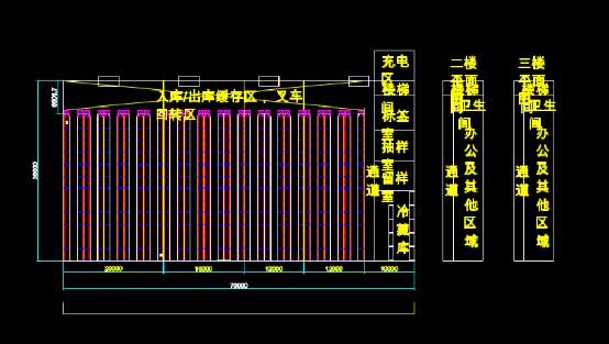 工厂货架设计CAD图纸下载资源