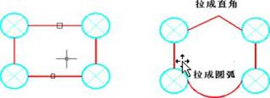 怎么把CAD图纸中导线断开并任意拉伸?