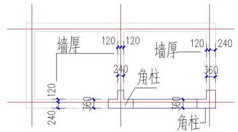 CAD中怎么插入角柱?CAD角柱绘制技巧(下)