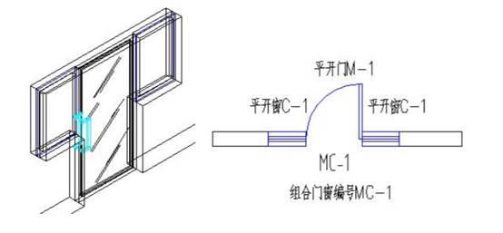 怎么在CAD中绘制组合门窗?CAD组合门窗绘制教程