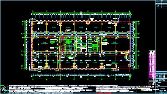 建筑设计CAD图纸返回测绘版平面图