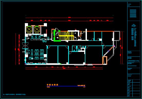 店面CAD建筑施工图纸查看