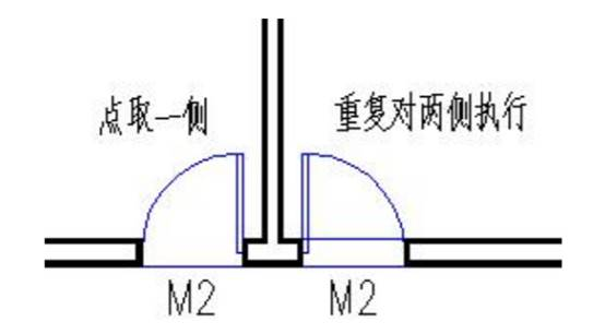 CAD平面图中怎么添加门口线?CAD门口线添加技巧