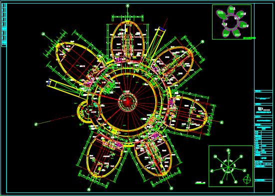 办公建筑设计说明CAD图纸查看