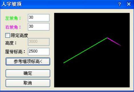怎么在CAD中绘制人字坡顶?CAD绘制人字坡顶教程