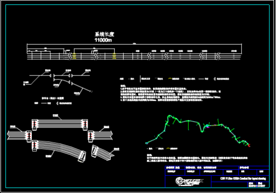 滑线布置CAD图纸下载资源