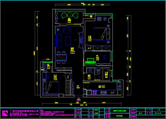 店铺装饰设计CAD图纸