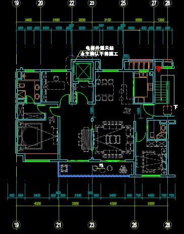 标准化户型结构设计CAD图纸