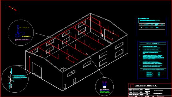仓库设计CAD图纸绘制学习