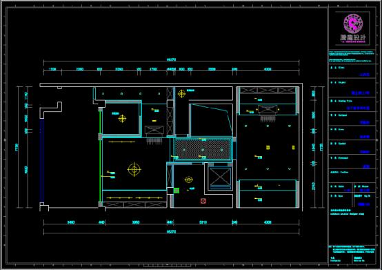 某园区电力设计CAD图纸下载