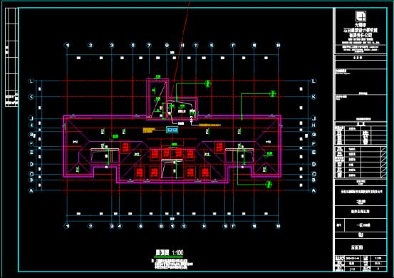 楼房施工设计CAD图纸