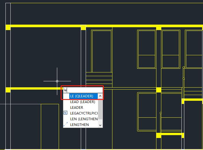 CAD引线标注快捷键是什么?CAD引线快捷键使用技巧