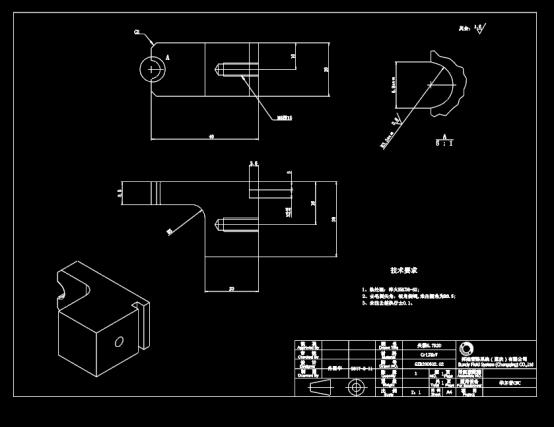 夹模设计CAD图纸下载资源