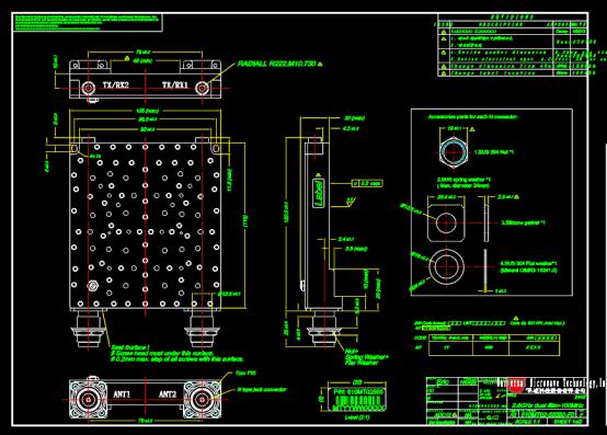 机械零部件装配CAD图纸查看