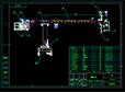 擦窗机总图设计CAD图纸下载参考