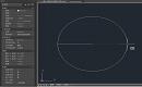 CAD怎么以一条直线为直径画圆?CAD画圆教程