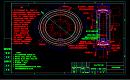 环形槽磨棍模具CAD图纸下载