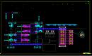 左手机工位布置CAD图纸查看