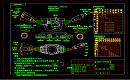 组合开关外型功能设计CAD图纸
