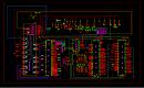 客车总线电路集成原理CAD图纸