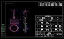 暗杆电动总装CAD图纸下载