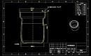 生活用品炖锅设计CAD图纸绘制